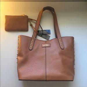 Caramel Nicole Miller Bag